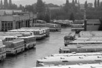 Odstavná plocha ve Slatině v 80. letech