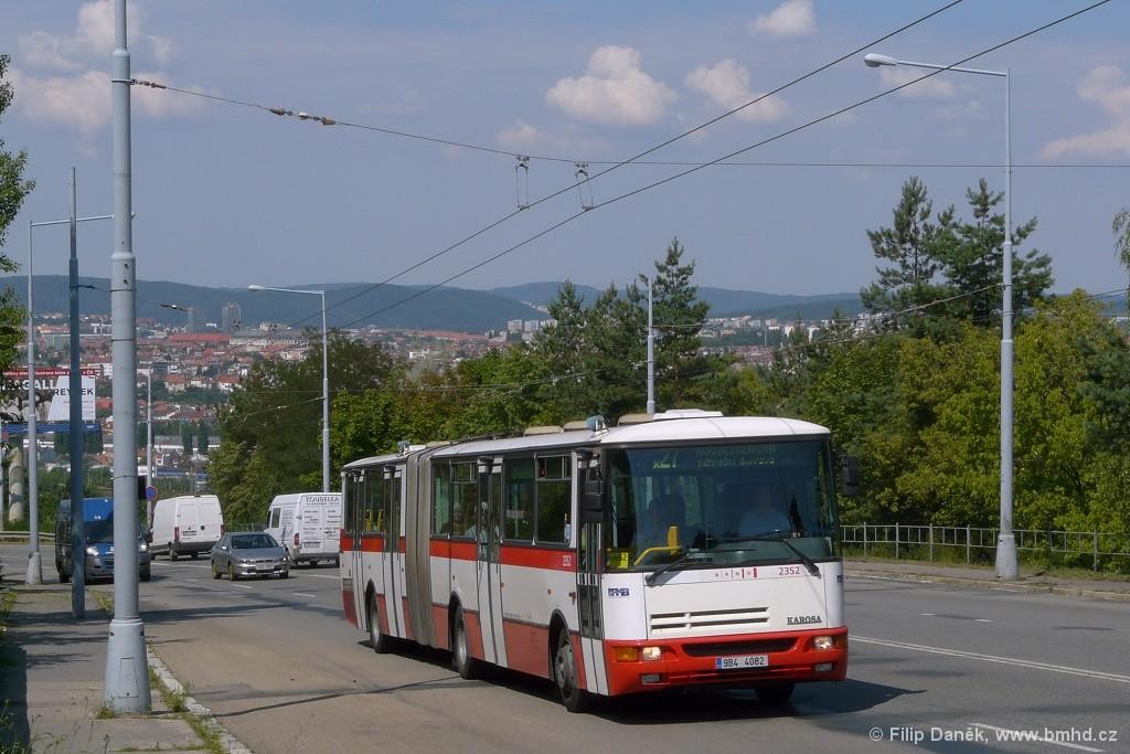 Fotogalerie » Karosa B941E.1962 9B4 4082 2352 | Brno | Vinohrady | Žarošická