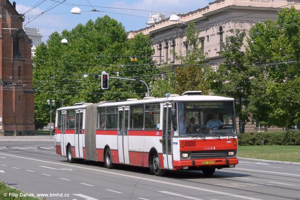 Fotogalerie » Karosa B741.1916 BSC 28-97 2301 | Brno | střed | Komenského náměstí
