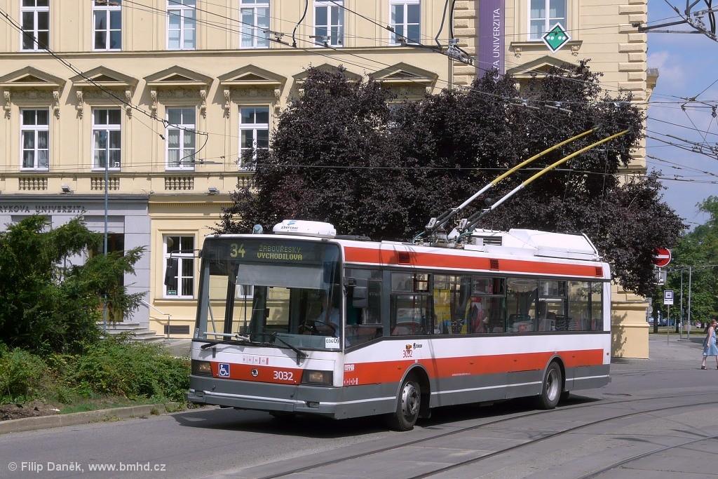 Fotogalerie » Škoda 21Tr 3032 | Brno | střed | Žerotínovo náměstí