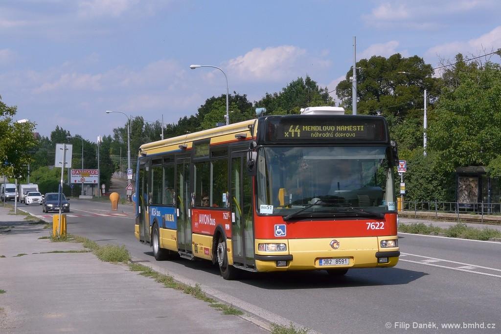 Fotogalerie » Irisbus Citybus 12M 2071.40 3B2 8591 7622 | Brno | Žabovřesky | Žabovřeská