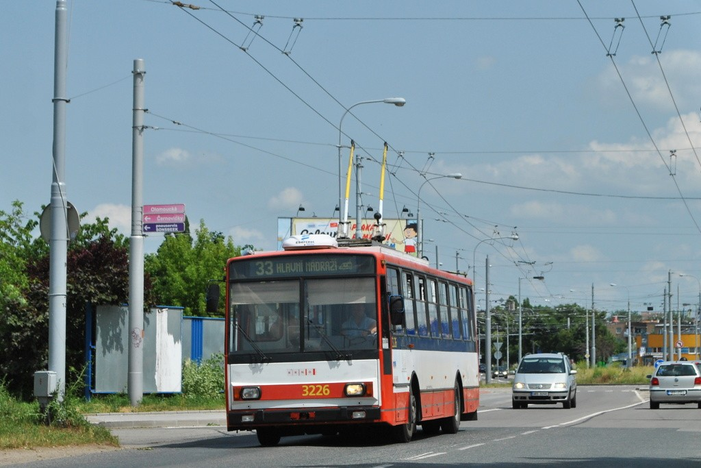 Fotogalerie » Škoda 14TrR 3226 | Brno | Slatina | Olomoucká