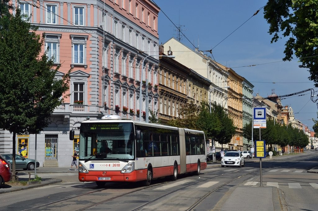 Fotogalerie » Irisbus Citelis 18M 6B2 2460 2618 | Brno | střed | Veveří | Grohova