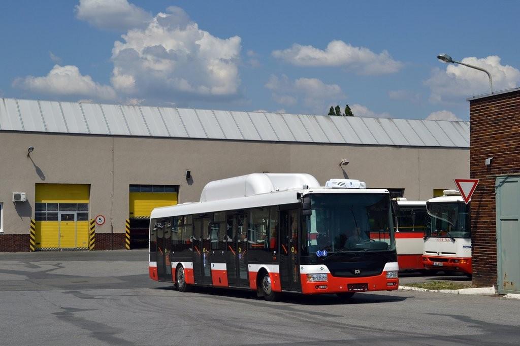Fotogalerie » SOR NBG 12 9B7 9167 7004 | Brno | Vozovna Slatina