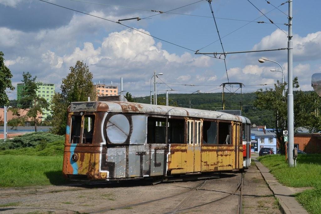 Fotogalerie » KPS Brno vv4 313 | Brno | vozovna Medlánky