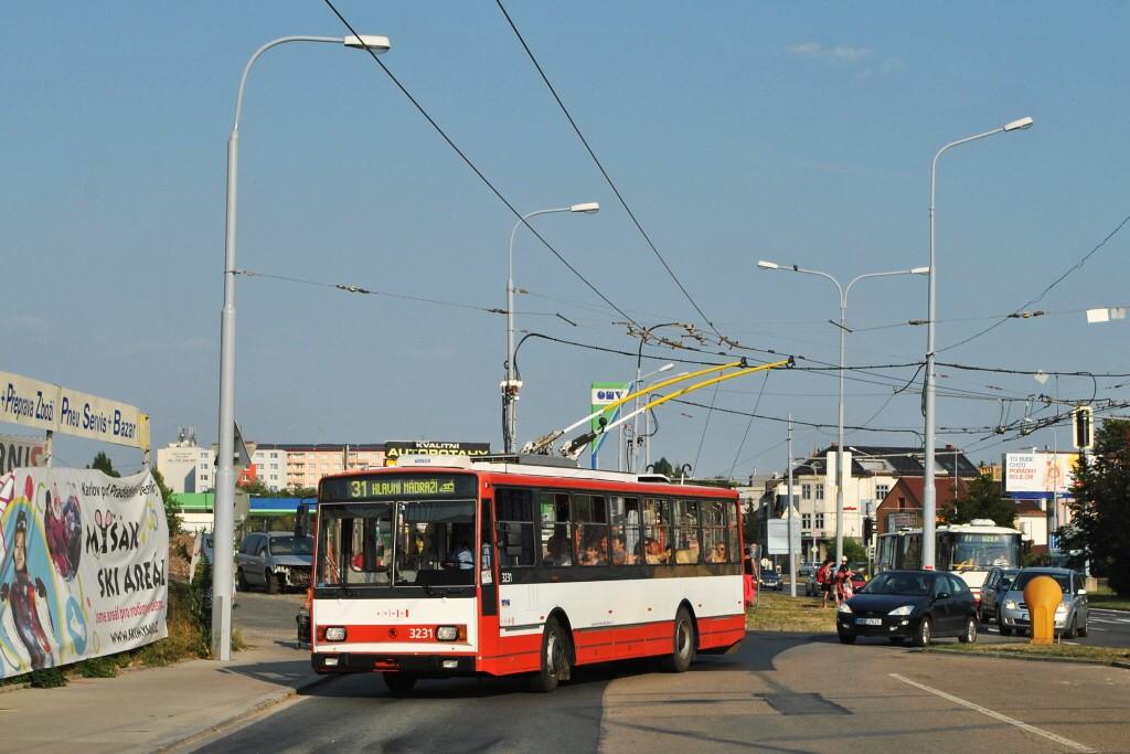 Fotogalerie » Škoda 14Tr08/6 3231 | Brno | Černovice | Olomoucká | Životského