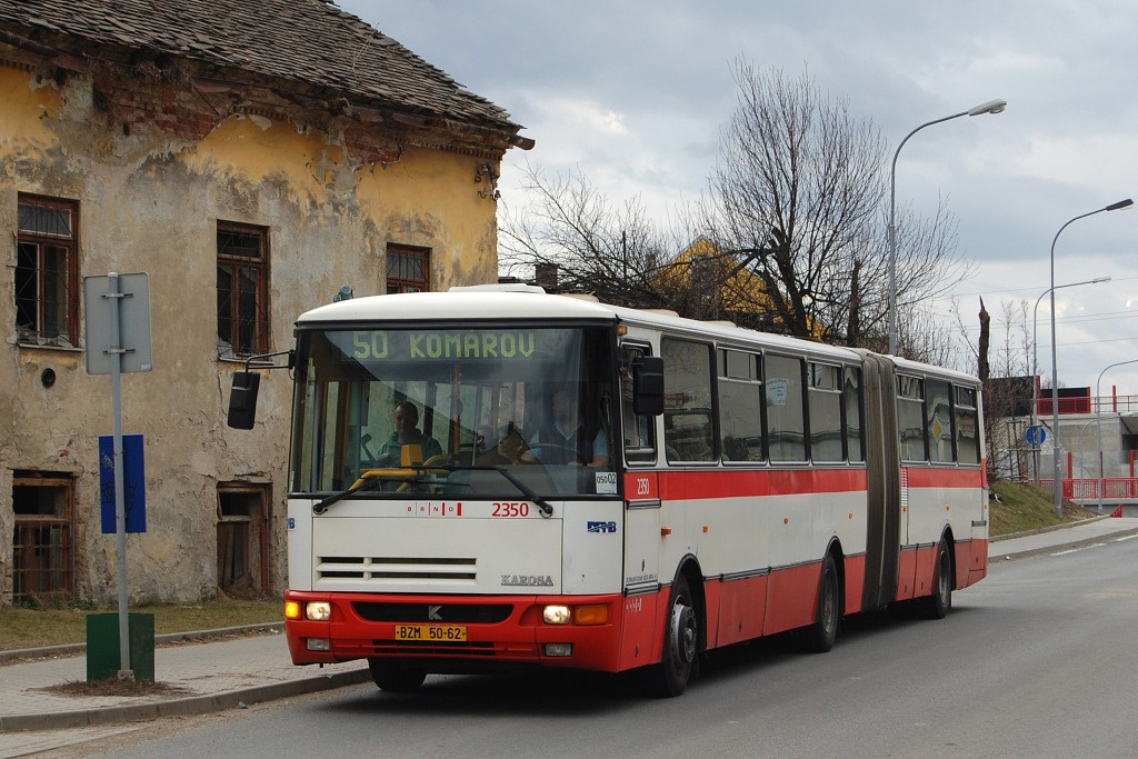 Fotogalerie » Karosa B941E.1962 BSE 91-85 2350 | Brno | Horní Heršpice | Sokolova | Košuličova