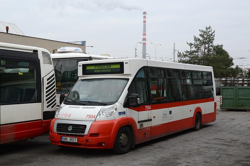 Fotogalerie » MAVE-Fiat CiBus ENA MAXI 6B6 6827 7504 | Brno | Slatina | vozovna Slatina