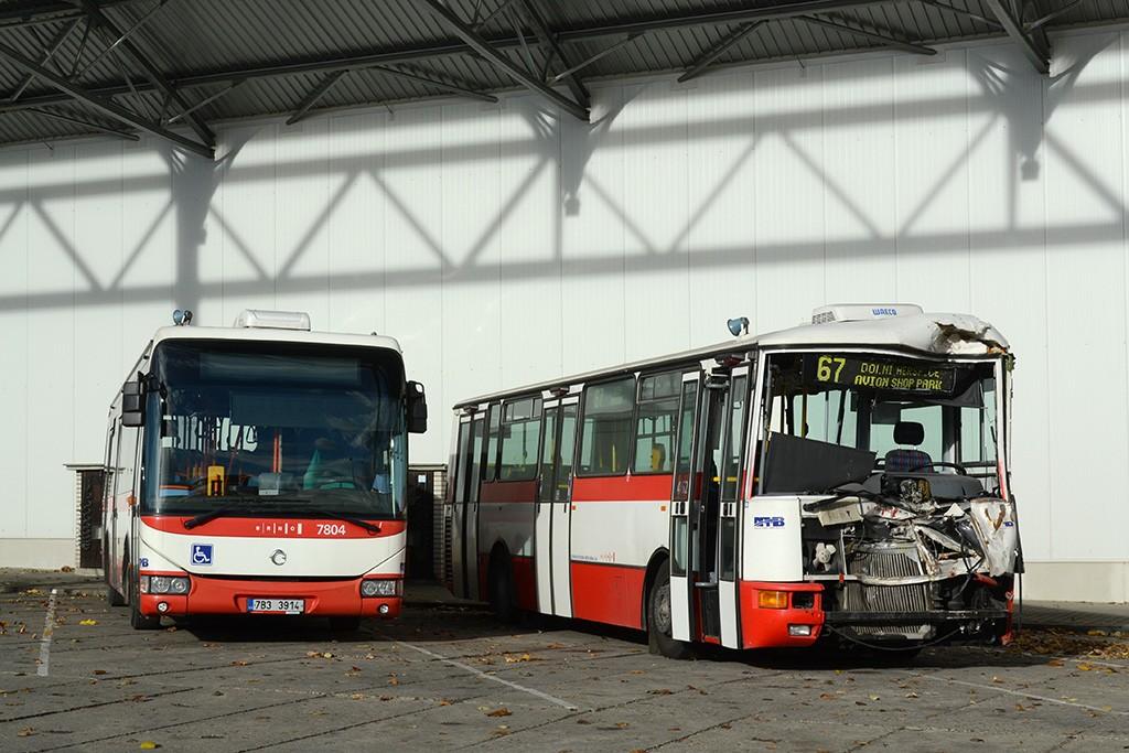 Fotogalerie » Irisbus Crossway LE 12M 7B3 3914 7804 | Karosa B931E.1707 BSH 14-58 7462 | Brno | Medlánky | Vozovna Medlánky