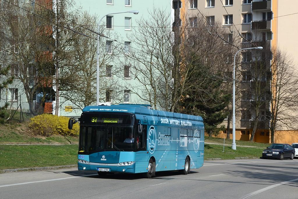 Fotogalerie » Škoda Perun 26BB HE 6P0 2180 | Brno | Kohoutovice | Libušino údolí