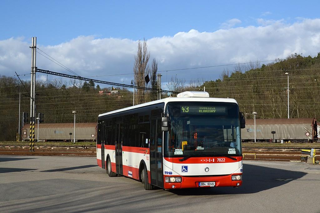 Fotogalerie » Irisbus Crossway LE 12M 9B4 6046 7822 | Brno | Královo Pole | Královo Pole, nádraží