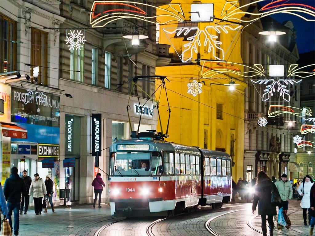 Fotogalerie » ČKD Tatra K2T 1044 | Brno | střed | Masarykova