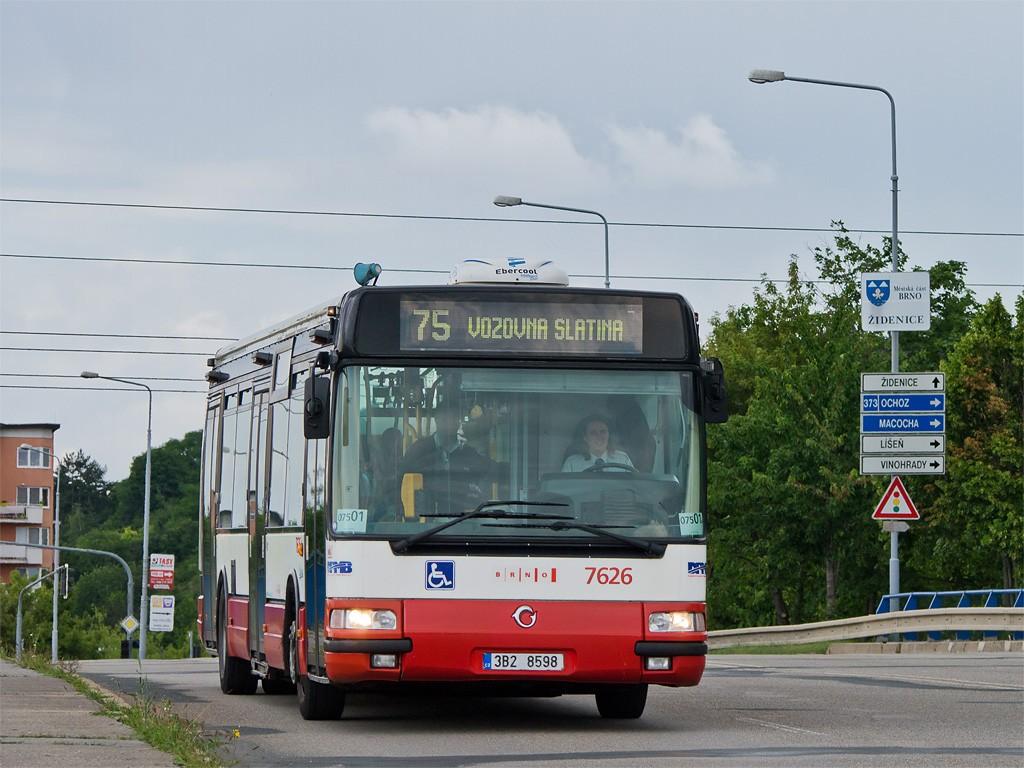 Fotogalerie » Irisbus Citybus 12M 2071.40 3B2 8598 7626 | Brno | Židenice | Bělohorská