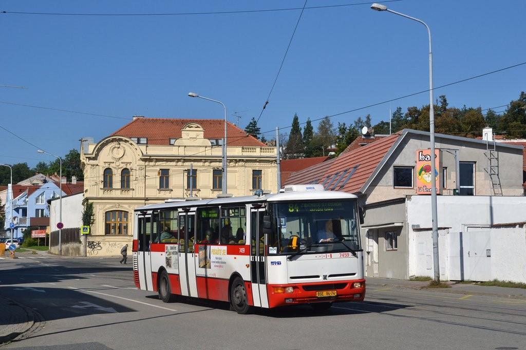 Fotogalerie » Karosa B931E.1707 BSE 94-74 7459 | Brno | Žabovřesky | Rosického náměstí