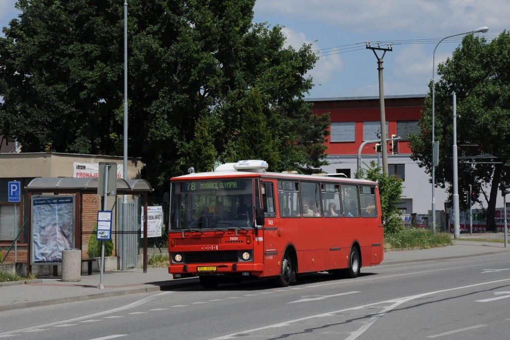 Fotogalerie » Karosa B731.1669 BSC 69-07 7409 | Brno | Slatina | Tuřanka | Řípská