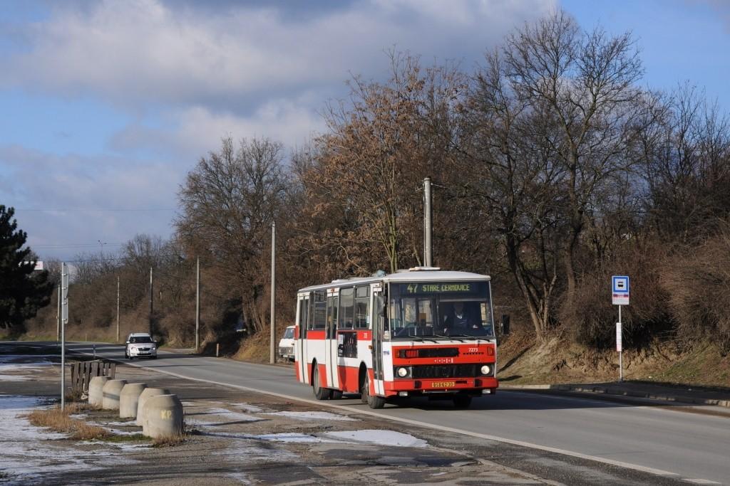 Fotogalerie » Karosa B732.40 BSB 62-30 7273 | Brno | Černovice | Vinohradská | Vinohradská