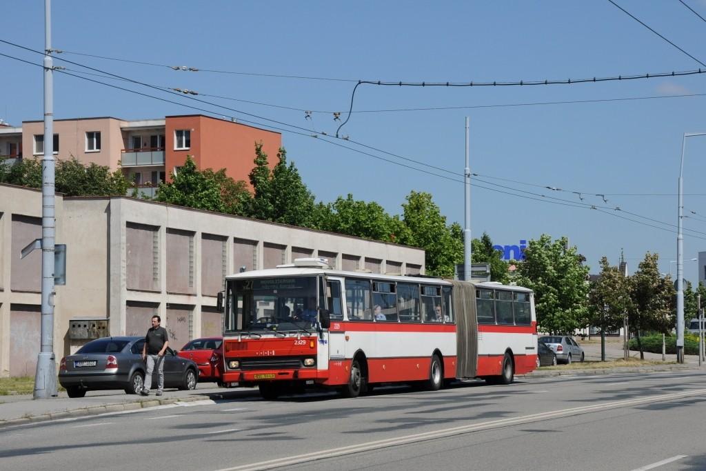 Fotogalerie » Karosa B741.1924 BSC 50-42 2329 | Brno | Vinohrady | Žarošická | Prušánecká