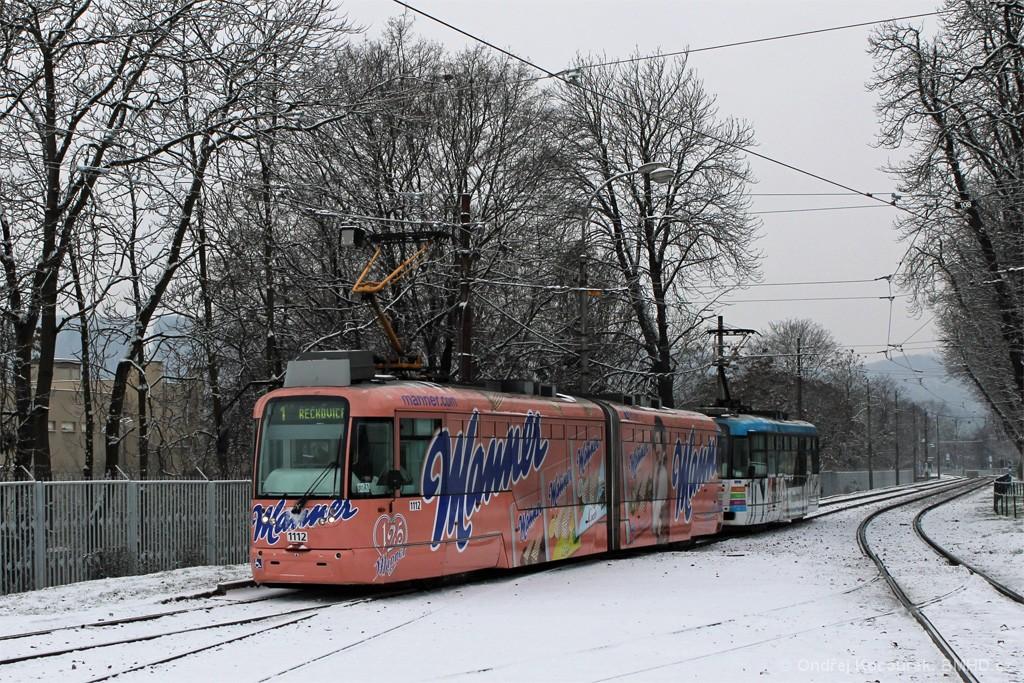 Fotogalerie » Pragoimex VarioLF2R.E 1112 | Pragoimex VarioLFR.E 1556 | Brno | Pisárky | Hlinky