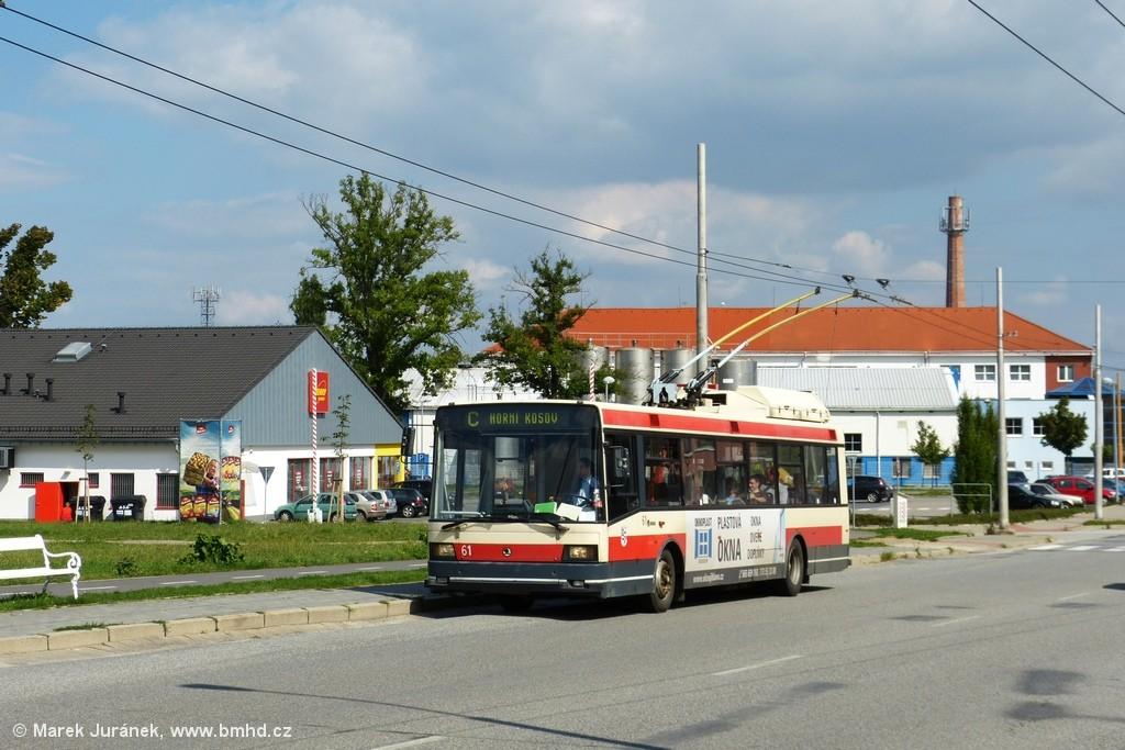 Fotogalerie » Škoda 21TrIGCT 61 | Jihlava | S.K. Neumanna | S.K. Neumanna