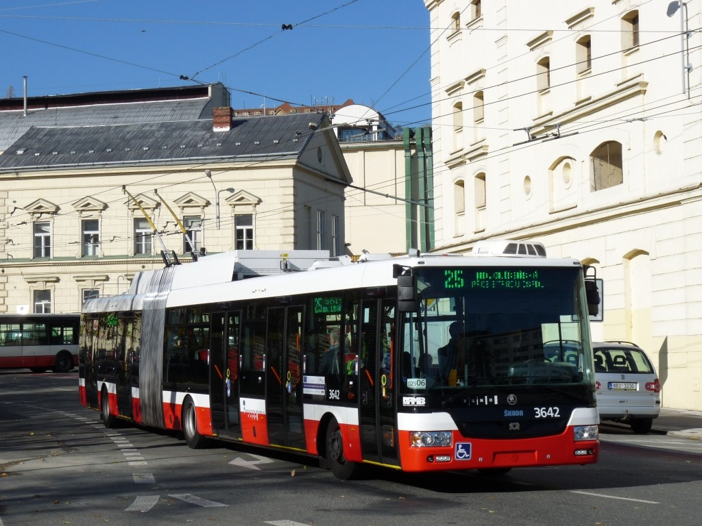 Fotogalerie » Škoda 31Tr 3642 | Brno | Staré Brno | Mendlovo náměstí
