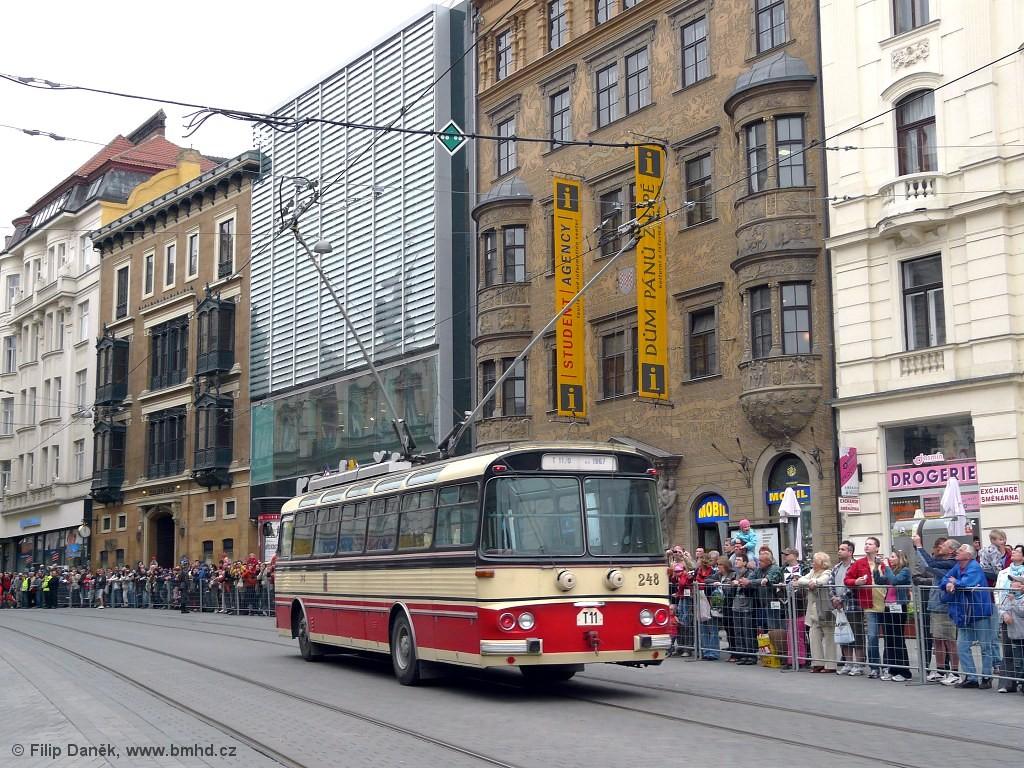 Fotogalerie » Škoda T11/0 248 | Brno | střed | náměstí Svobody