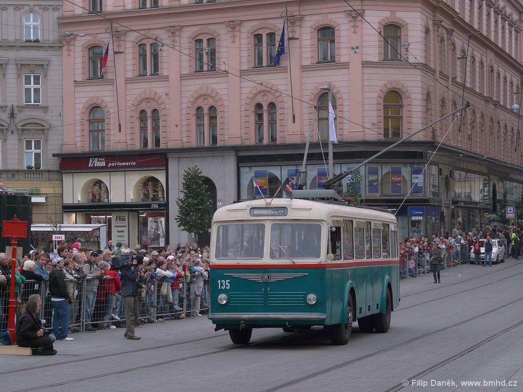 Fotogalerie » Škoda 6Tr2 135 | Brno | střed | náměstí Svobody