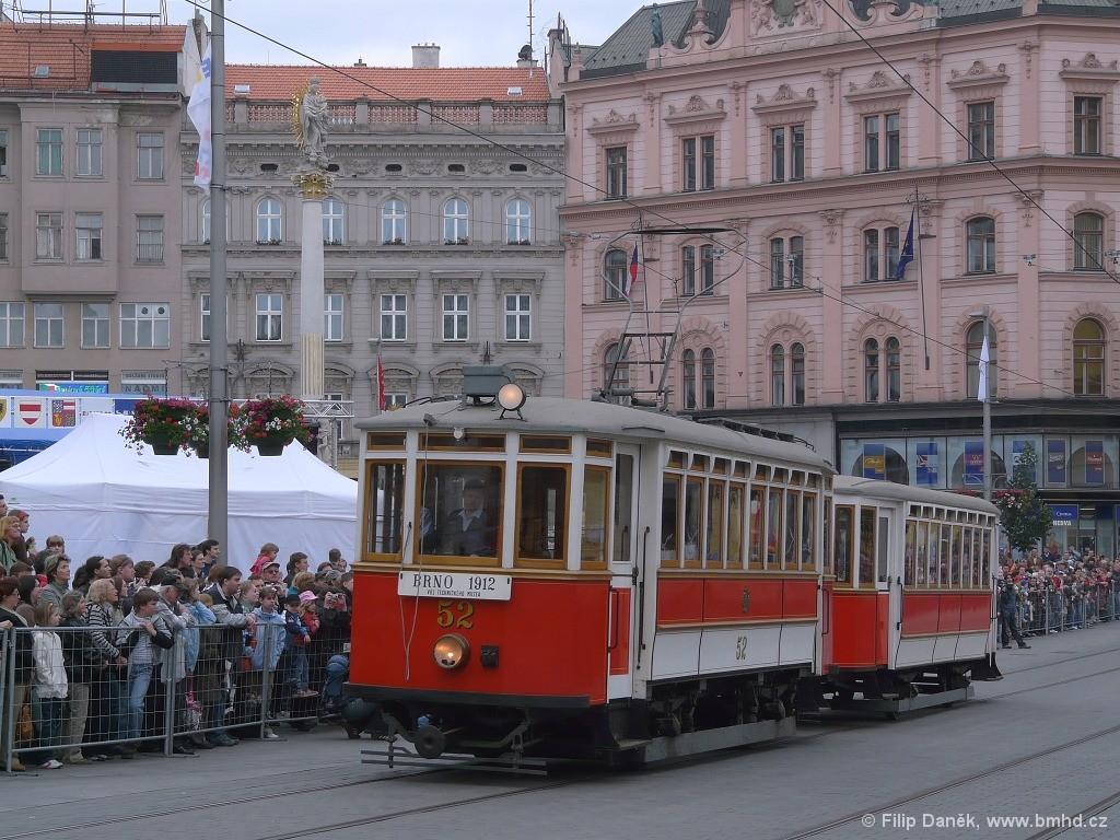Fotogalerie » Graz mv4 52 | Vagónka Studénka m 205 | Brno | střed | náměstí Svobody
