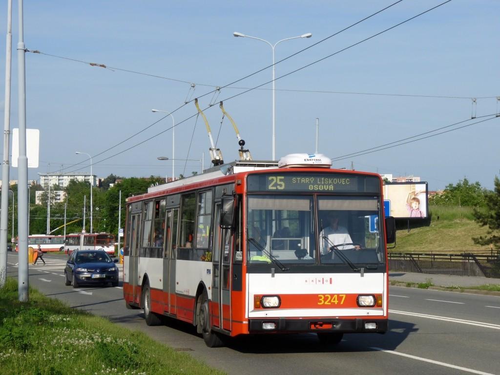 Fotogalerie » Škoda 14TrR 3247 | Brno | Líšeň | Novolíšeňská