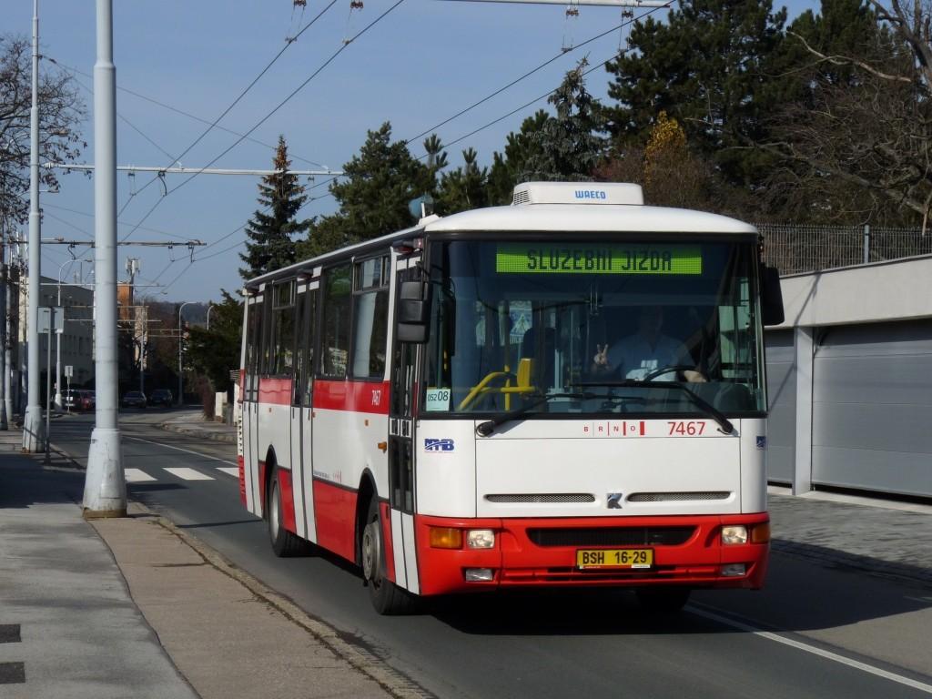 Fotogalerie » Karosa B931E.1707 BSH 16-29 7467 | Brno | Masarykova Čtvrť | Preslova