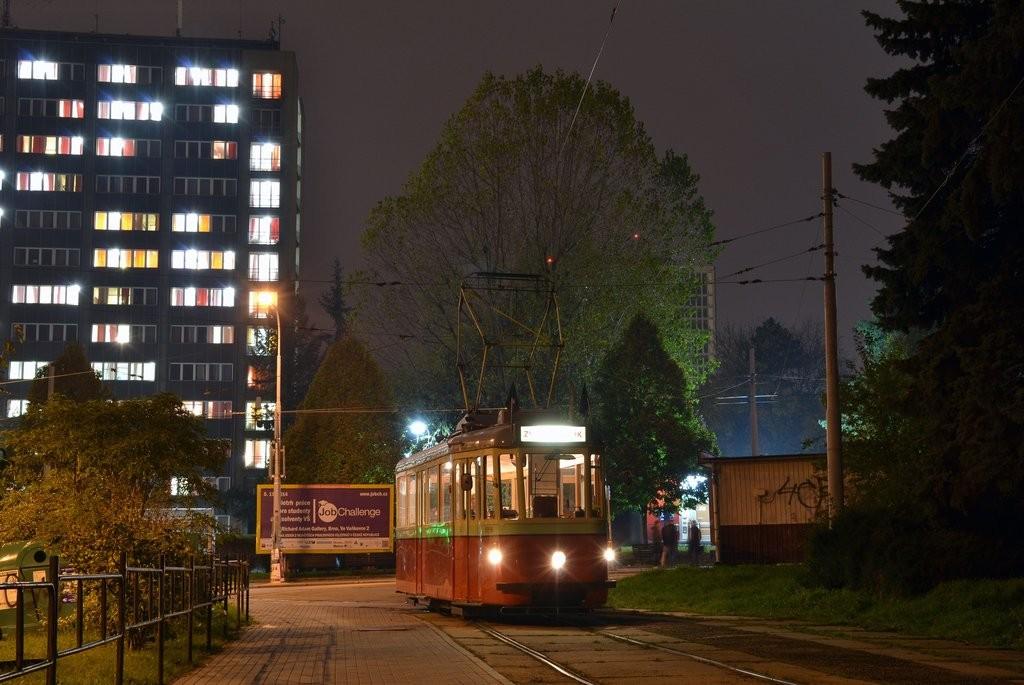 Fotogalerie » SBEPD 4MT4 4058 | Brno | Královo Pole | Červinkova | Červinkova, smyčka