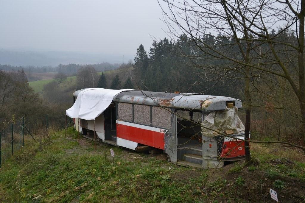 Fotogalerie » ČKD Tatra T3 1528 | Obora u Boskovic