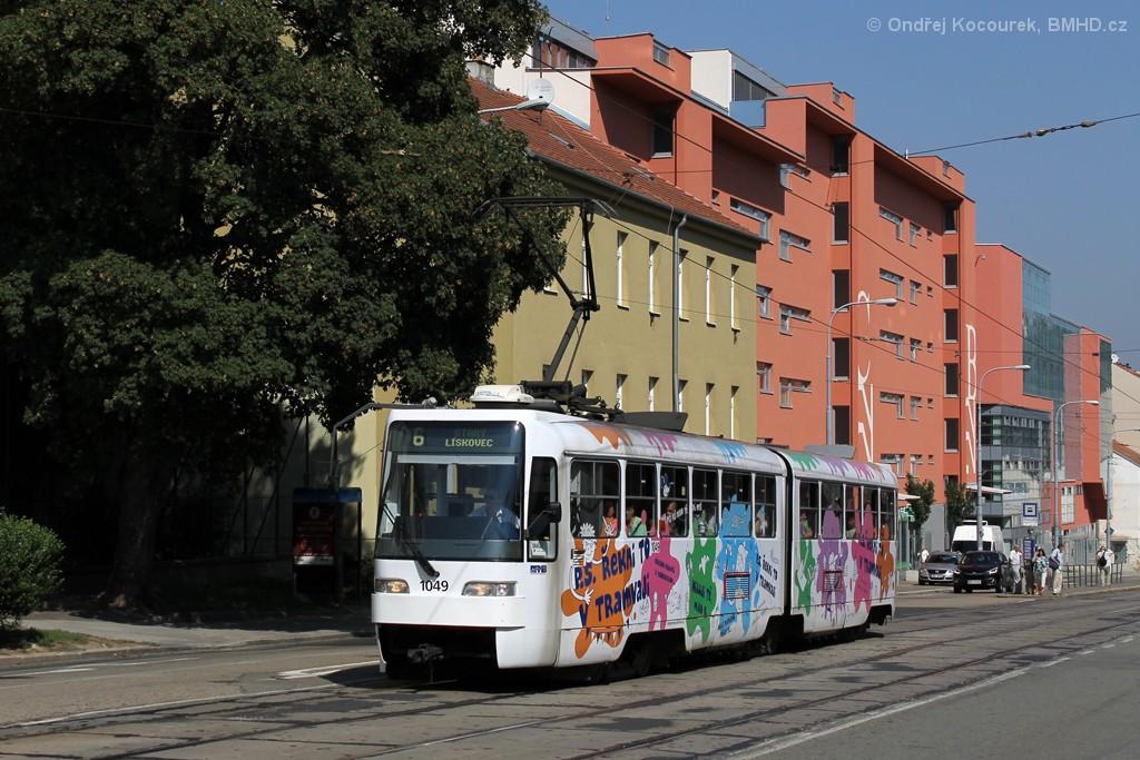 Fotogalerie » ČKD Tatra K2R03-P 1049 | Brno | Štýřice | Vídeňská
