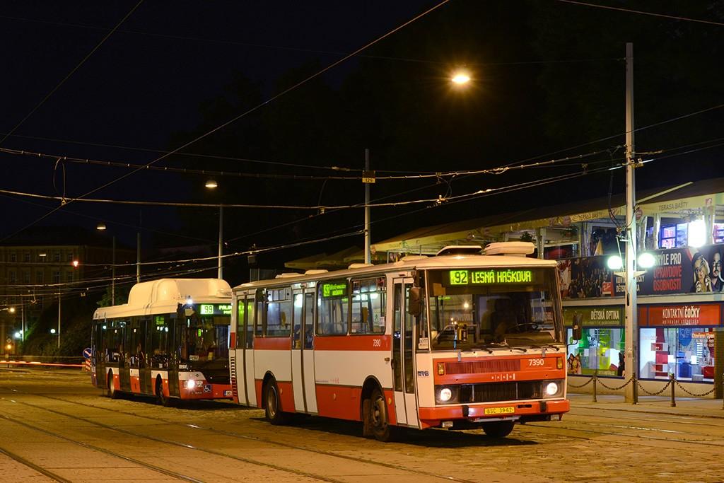 Fotogalerie » Karosa B732.1654.3 BSC 39-62 7390 | Brno | střed | Nádražní