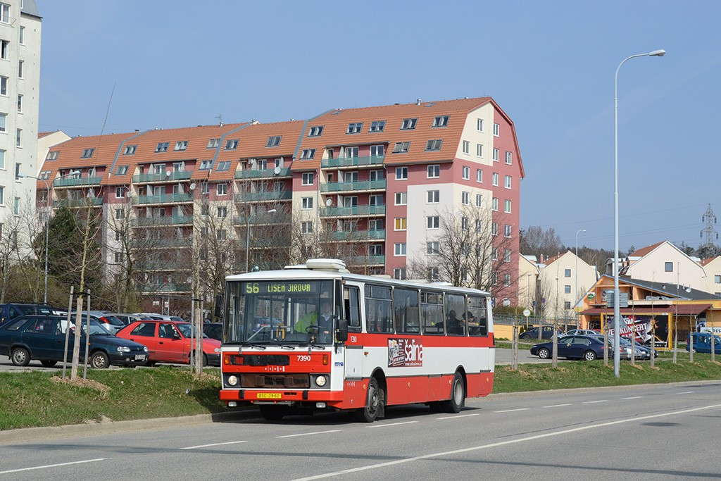 Fotogalerie » Karosa B732.1654.3 BSC 39-62 7390 | Brno | Líšeň | Novolíšeňská