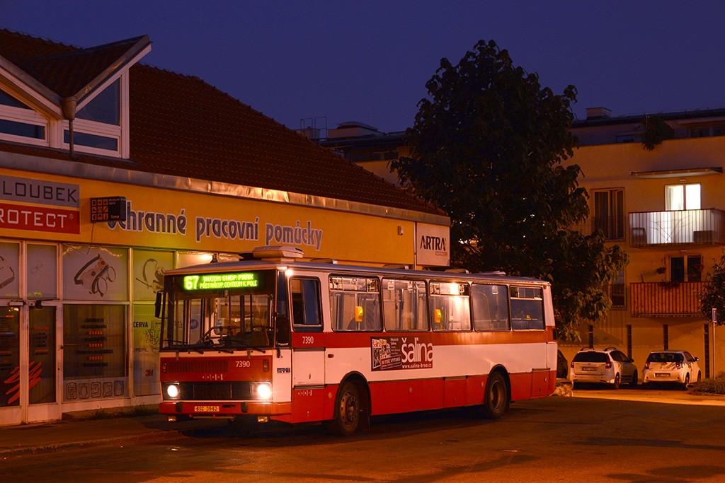 Fotogalerie » Karosa B732.1654.3 BSC 39-62 7390 | Brno | Jundrov | Lelkova | Jundrov