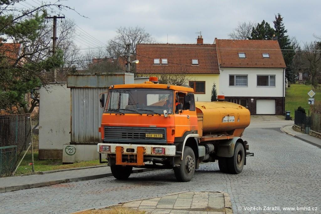 Fotogalerie » Liaz Liaz SA8L 110 BSB 99-72 5281 | Brno | Bosonohy | U smyčky