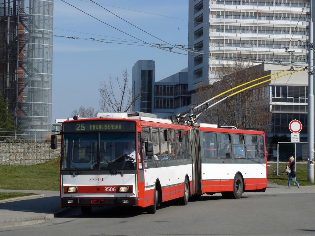 Fotogalerie » Škoda 15TrM 3506 | Brno | Bohunice | Netroufalky