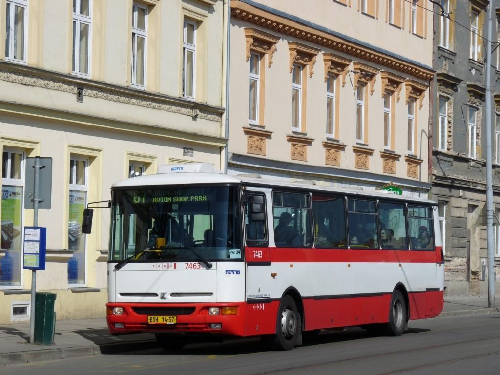 Fotogalerie » Karosa B931E.1707 BSH 14-57 7463 | Brno | Komárov | Dornych | Svatopetrská