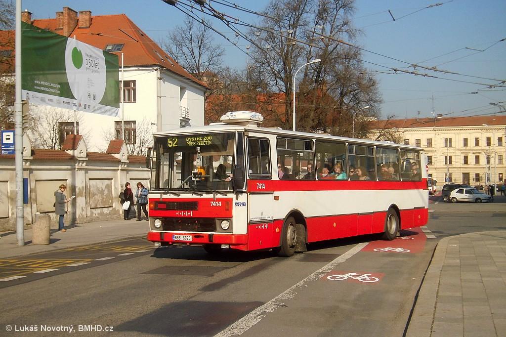 Fotogalerie » Karosa B731.1669 6B6 6826 7414   Brno   Staré Brno   Mendlovo náměstí