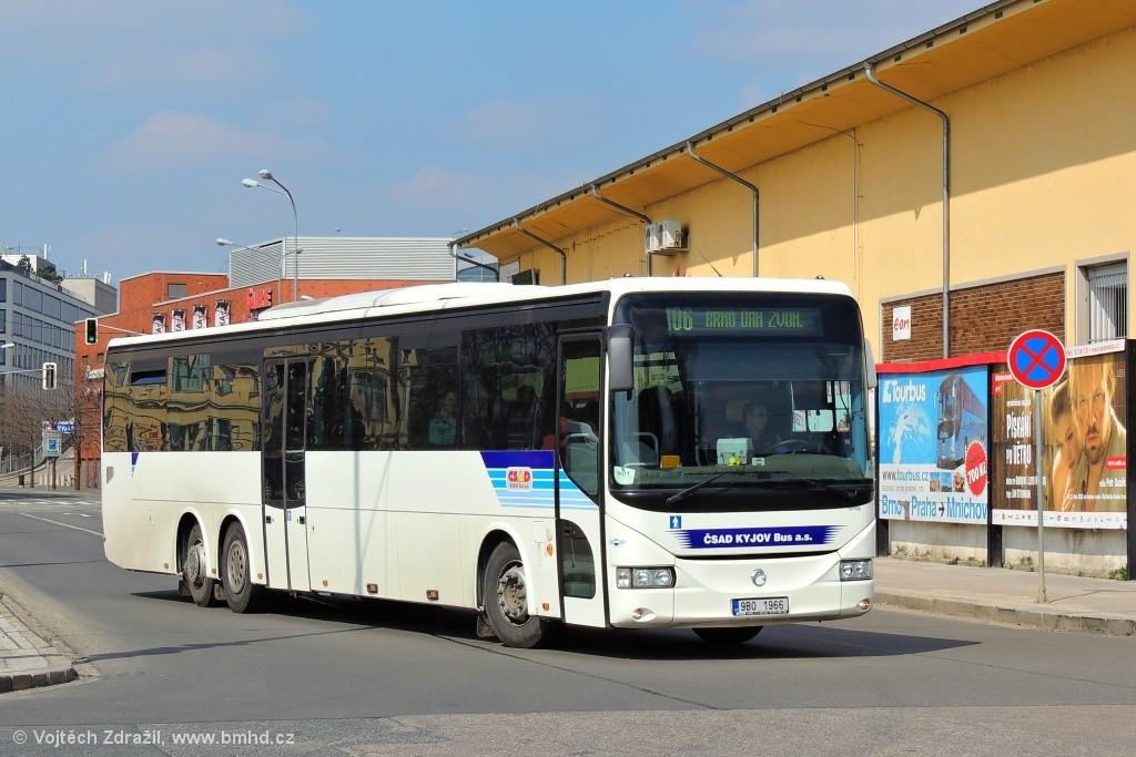 Fotogalerie » Irisbus Arway 15M 9B0 1966   Brno   Trnitá   Trnitá