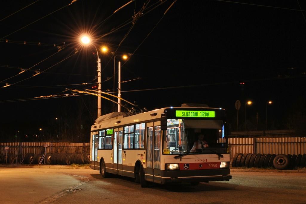 Fotogalerie » Škoda 21TrAC 3058 | Brno | Slatina | vozovna Slatina