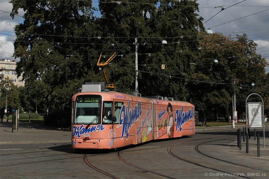 Fotogalerie » Pragoimex VarioLF2R.E 1112   Brno   střed   Moravské náměstí