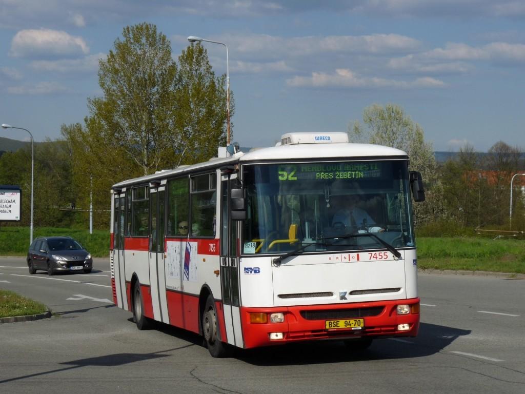 Fotogalerie » Karosa B931E.1707 BSE 94-70 7455 | Brno | Bystrc | Vejrostova