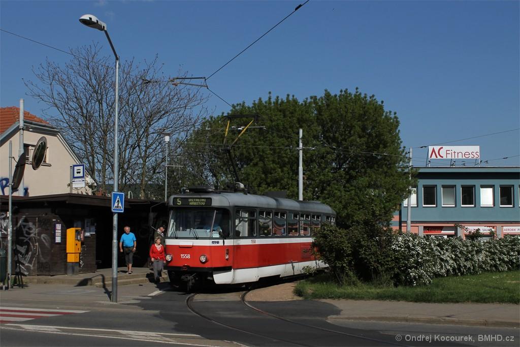 Fotogalerie » Pragoimex T3R.PV 1558 | Brno | Štefánikova Čtvrť | Merhautova | Štefánikova čtvrť