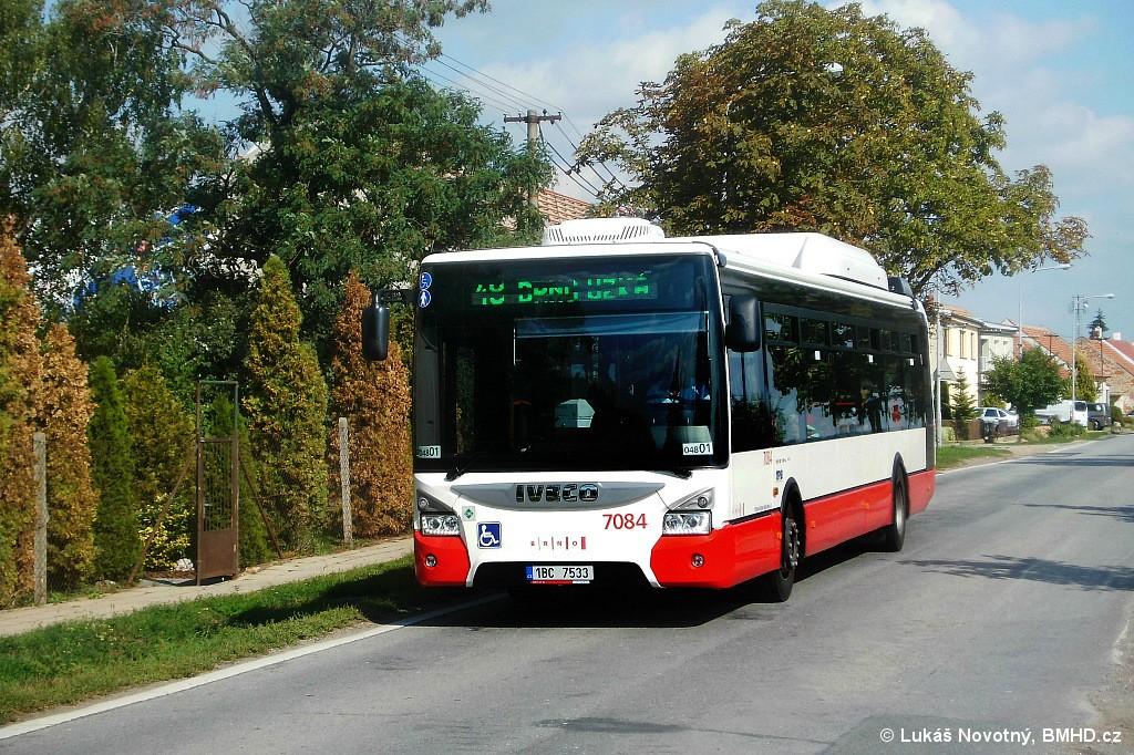 Fotogalerie » Iveco Urbanway 12M CNG 1BC 7533 7084 | Brno | Dvorska | Zapletalova | Dvorska, smyčka
