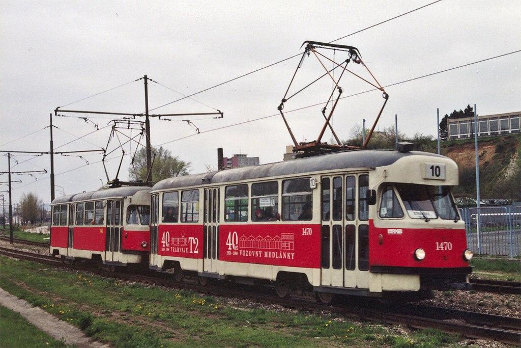 Fotogalerie » Tatra T2R 1470 | Tatra T2R 1462 | Brno | Židenice | Ostravská