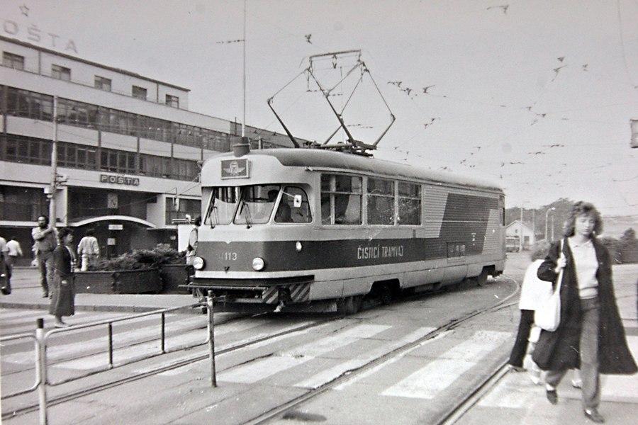Fotogalerie » Tatra T2 služební 4113 | Brno | střed | Nádražní | Hlavní nádraží