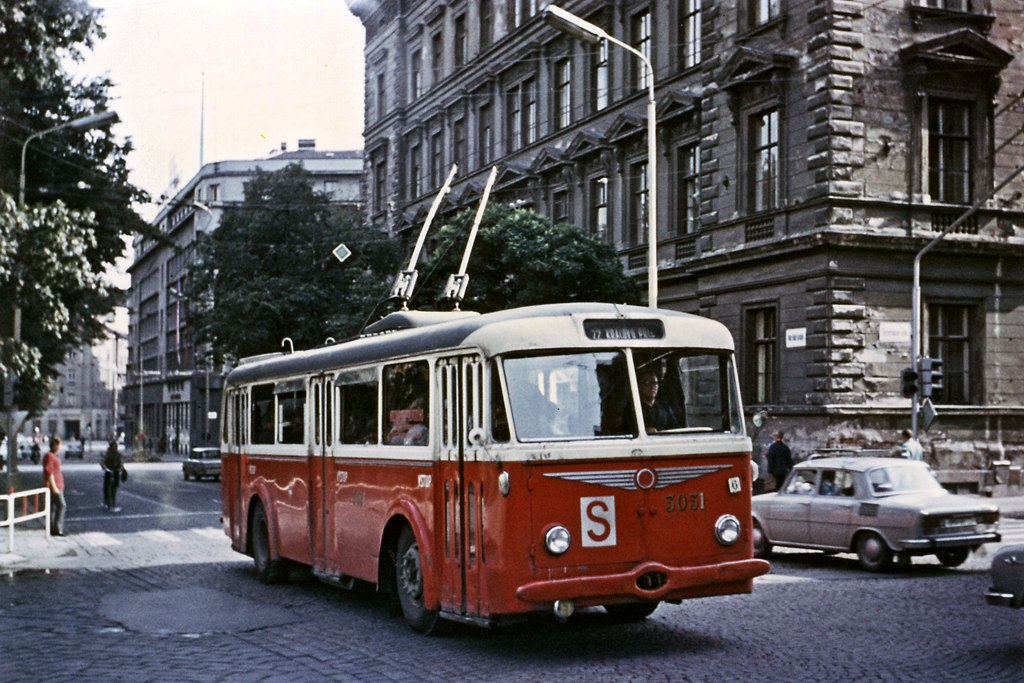 Fotogalerie » Škoda 7Tr4 3031 | Brno | střed | Moravské náměstí