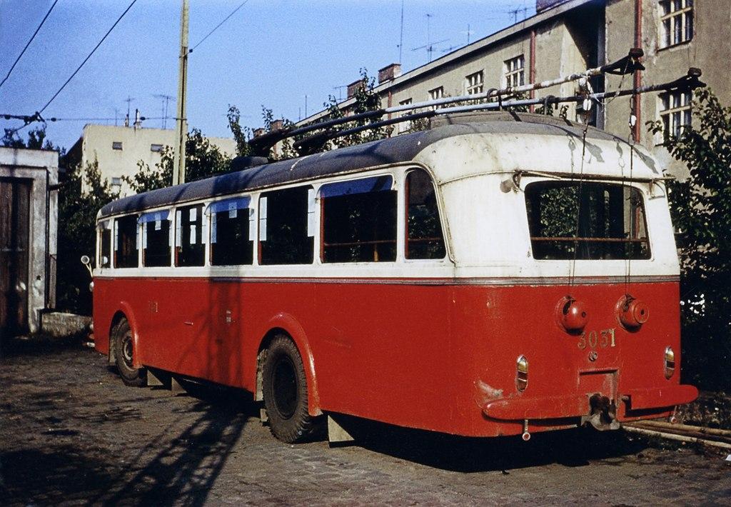 Fotogalerie » Škoda 7Tr4 3031 | Brno | Vozovna Husovice