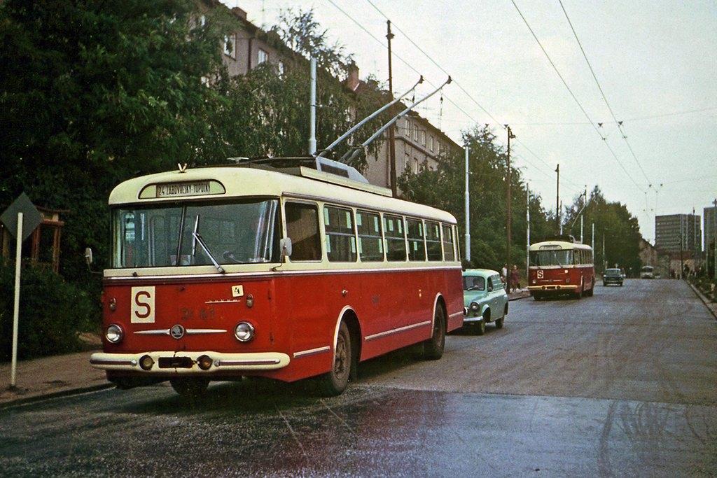 Fotogalerie » Škoda 9Tr15 3061 | Brno | Žabovřesky | Zborovská